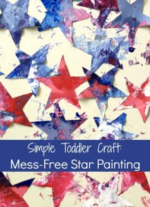 Mess Free Star Painting