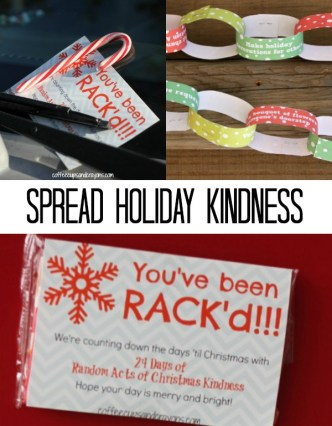 Fun ways for kids to spread holiday kindness and cheer!