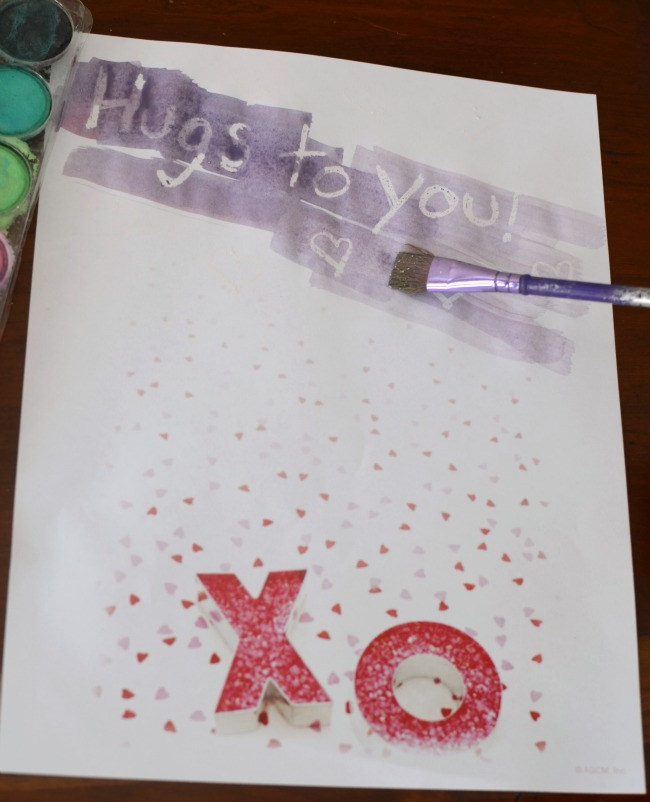 Awesome Valentine's Day activity - give Secret Message Valentines to your friends!