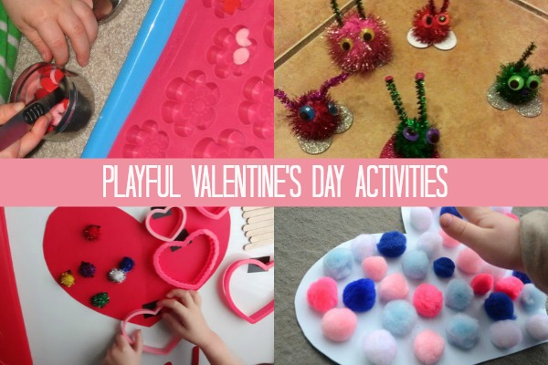 Pompom activities perfect for Valentine's Day!