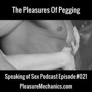 The Pleasures of Pegging