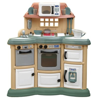 Homestyle Play Kitchen Gives Real Cooking Experience To ...