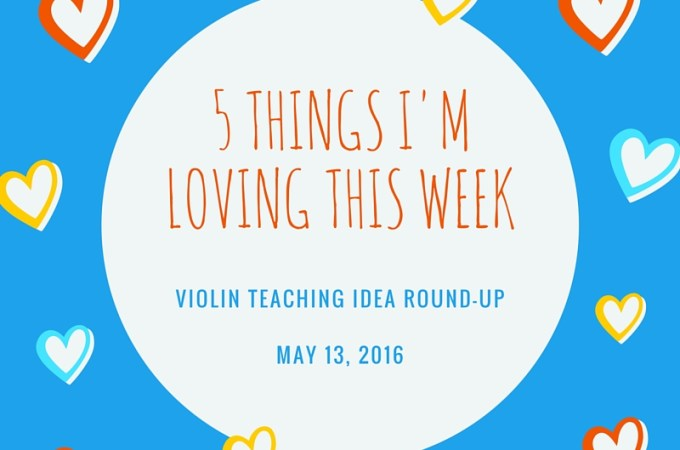 A weekly round up of violin teaching ideas for Suzuki teachers. www.pluckyviolinteacher.com