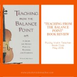"""""""Teaching From The Balance Point"""" Book Review"""