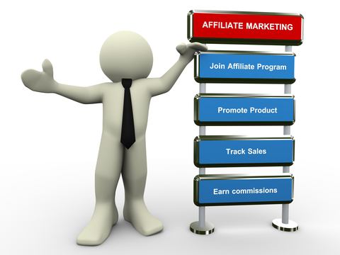 affiliate marketing man