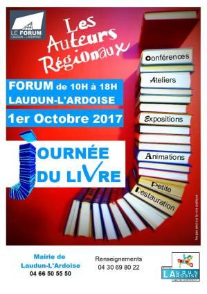 Salon auteurs régionaux Laudun 2017
