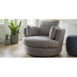 Small Crop Of Cuddle Chair With Ottoman