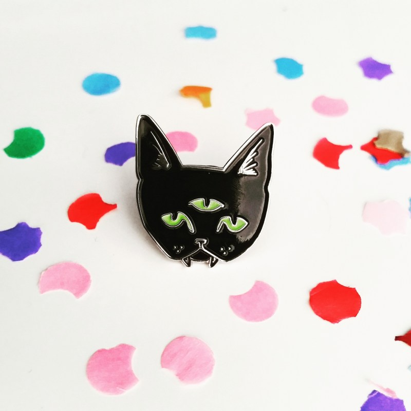 Last Week - I got myself a Dripface pin brooch