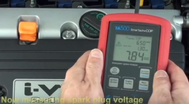 MeasuringSparkVoltageWithTA500