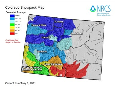 Snow Pack May 2011