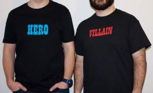 tall grass apparel hero villain shirts