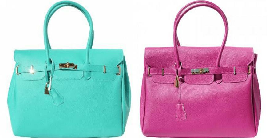 Bella Bello Oggi Handbags made with Genuine Leather