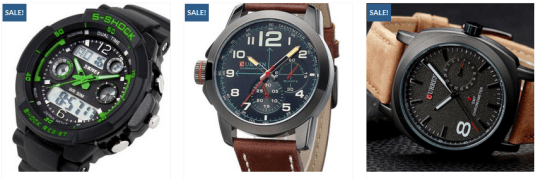 mens waches in low price