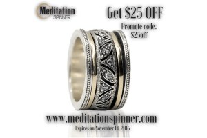 The Meditation or Spinning Rings can bring positive change into your life