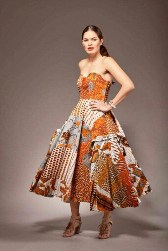 African prints redesigned into modern trends by Sosomeshop