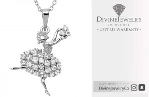 Get Beautiful Silver Dancer Necklace at 40% Discount