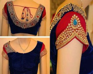 Superb Blouse designs from Kanjivaram Silks