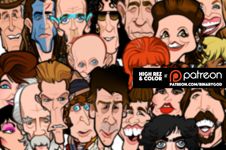 Lets Meet Steve Rampton, Highly Skilled Caricatures and Comics Artist