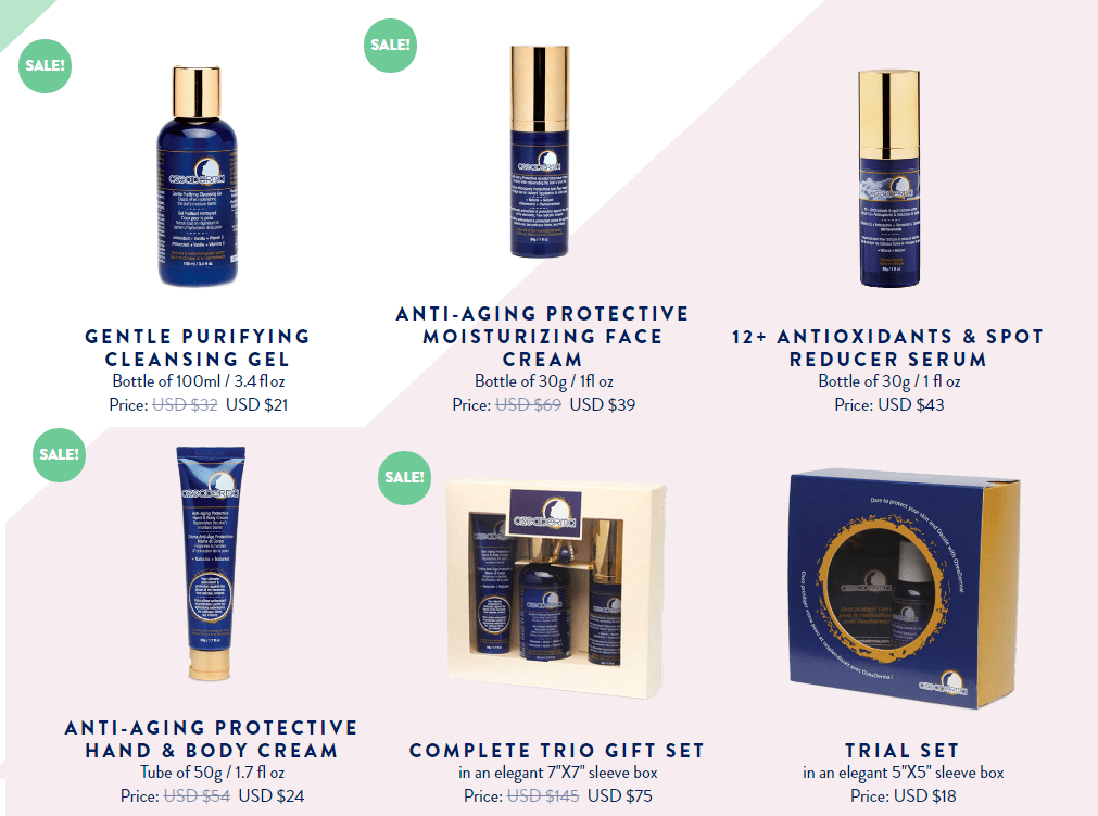 OZEADERMA got the best solution for your skin !