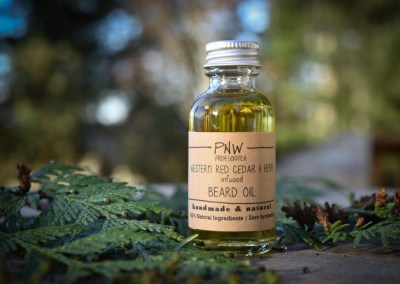PNW Original Cedar & Herb Infused Beard Oil