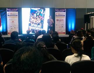 The VoiceMaster Speaks at SME Business Expo 2015