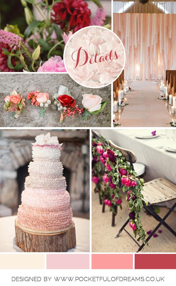 Bridal Inspiration Board #54 ~ Hopeless Romantic (Mood + Inspiration Boards )