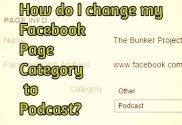 FACEBOOK FAN PAGE to Podcast