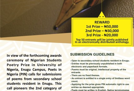 CALL FOR SUMMISSION IN ENUGU