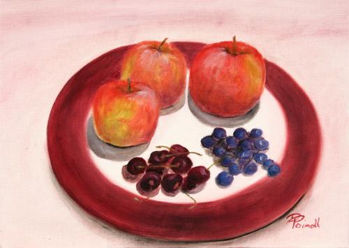 Obst am Teller