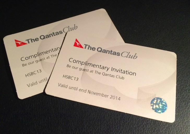 2 Qantas Club Lounge Passes
