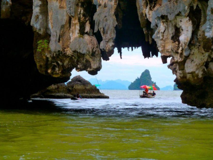 On my way to James Bond Island, Thailand