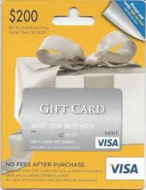 visa gift card staples