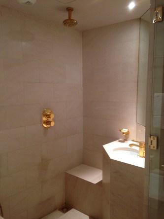 Shower park hyatt paris vendome