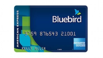 american express blue bird