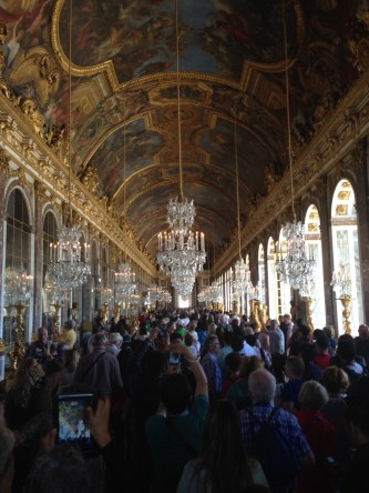 Hall of mirrors The Palace of Versailles