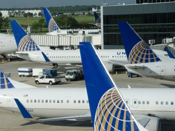 United planes at IAH!