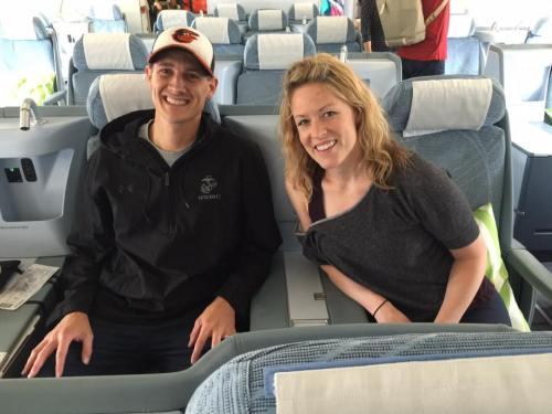 finnair business class lounge flight review hel ord seat