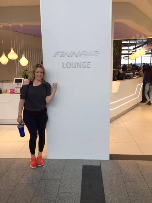 finnair business lounge flight review hel ord seat
