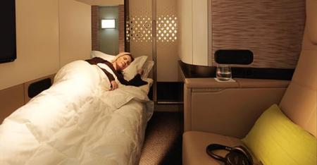 etihad first class a380 apartment