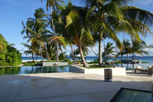 sunset hotel review park hyatt maldives male beach resort luxury island overwater villa pool breakfast