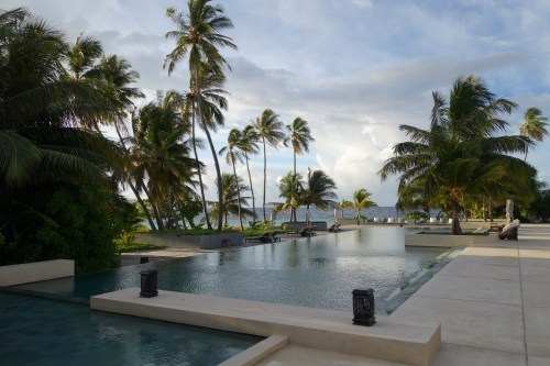 hotel review park hyatt maldives male beach resort luxury island overwater villa pool bar