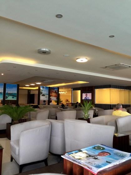 Maldivian Moonimaa Lounge MLE Airport