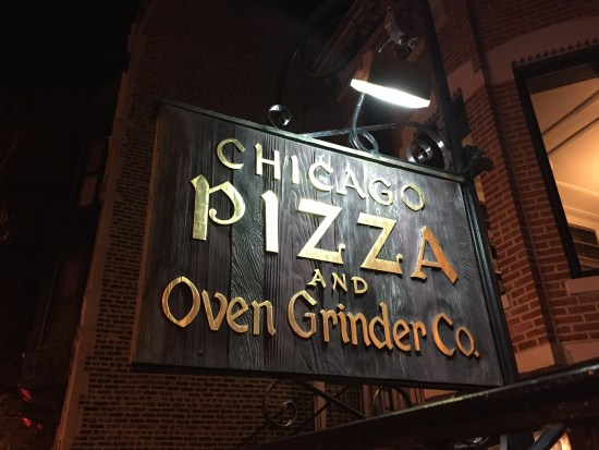 chicago oven grinder best pizza