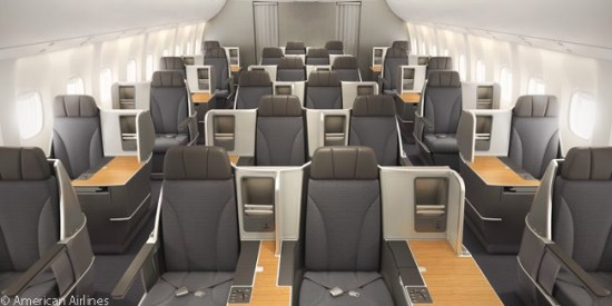 767 american airlines business class
