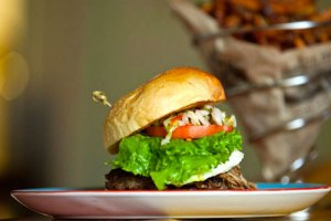 Merriman's Downstairs Cafe -Burgers, Pizza, Salads