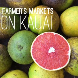 Kauai farmer's markets fruit