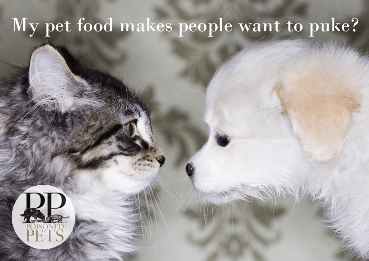 pet food cats-dogs-kids-puke