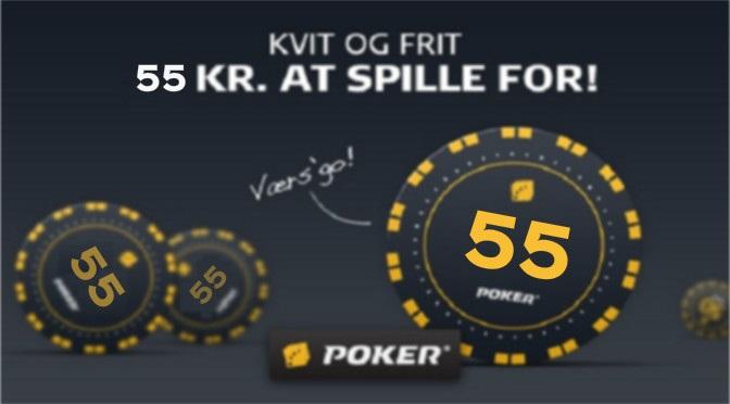 danske spil poker bonuskode gratis55