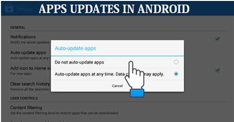 App updates in Android