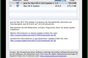 Mac – Java Update 5 für OS X 10.6